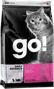 go daily defence dry cat food bag