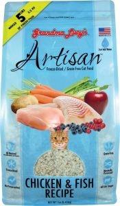 grandma lucys freeze dried cat food bag
