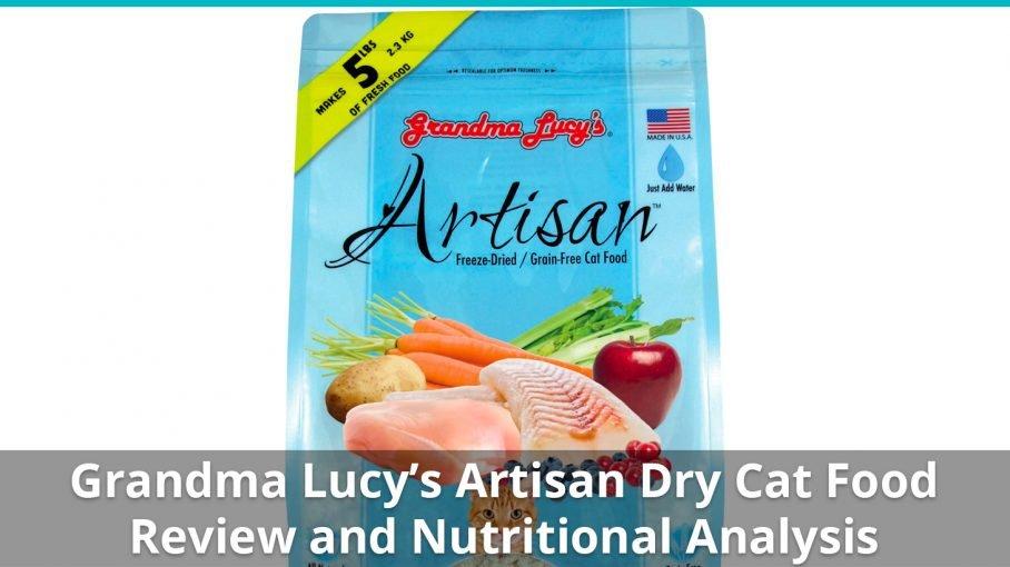 grandma lucys dry cat food