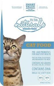 hi tek naturals dry cat food bag