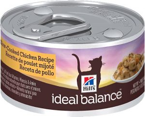 hills ideal balance wet cat food can