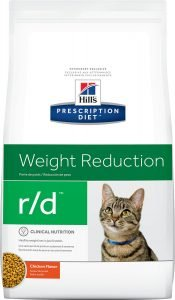 hills prescription diet dry cat food bag