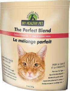 holistic blend dry cat food bag