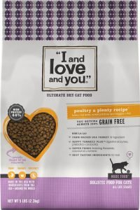i and love and you dry cat food bag