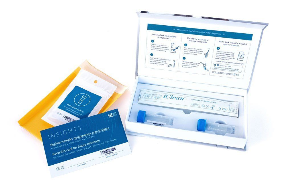 nomnomnow microbiome test kit open best cat microbiome test kit