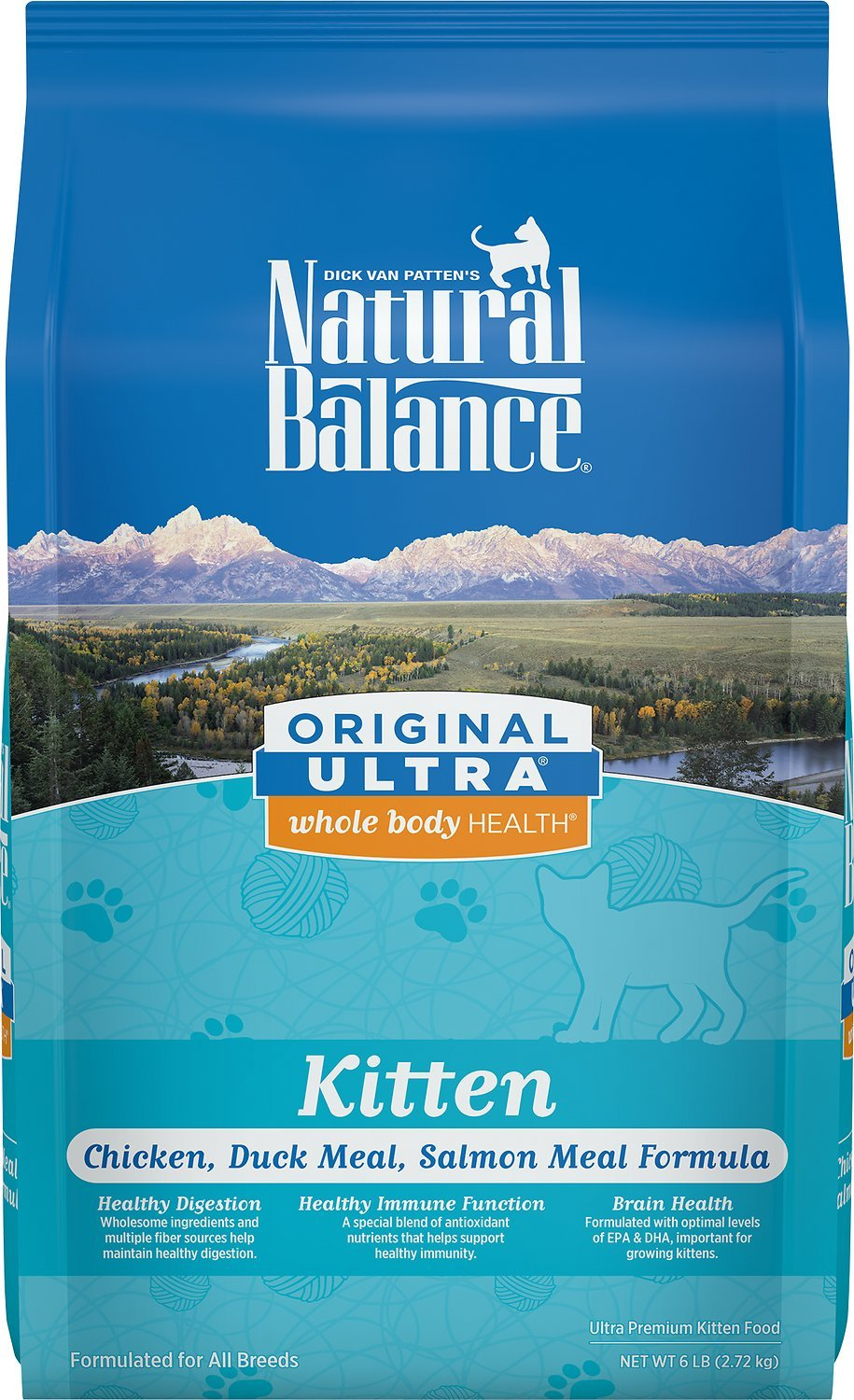 Natural Balance Original Ultra Whole Body Health Kitten