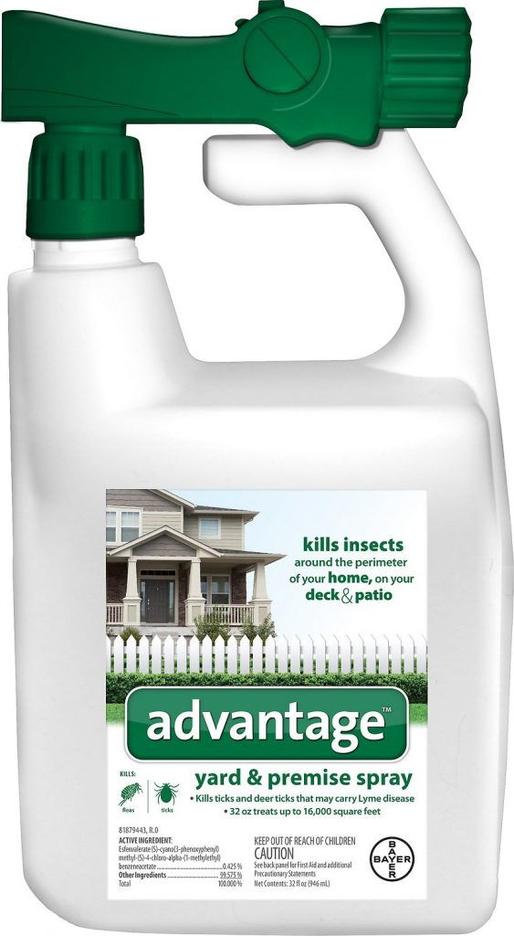 advantage yard and premise spray flea treatment