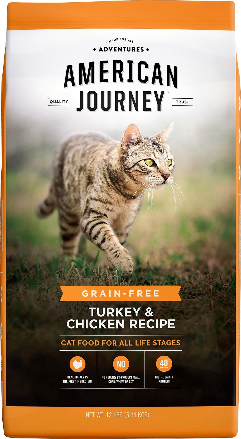 american journey grain free cheap dry cat food