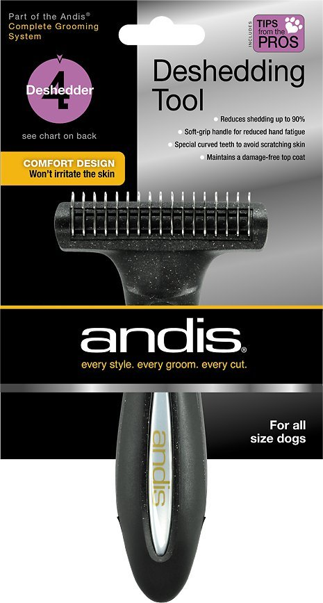 andis deshedding brush for cats