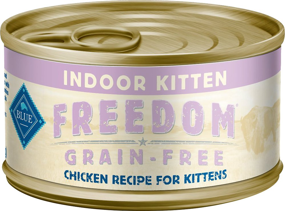 blue buffalo freedom kitten food