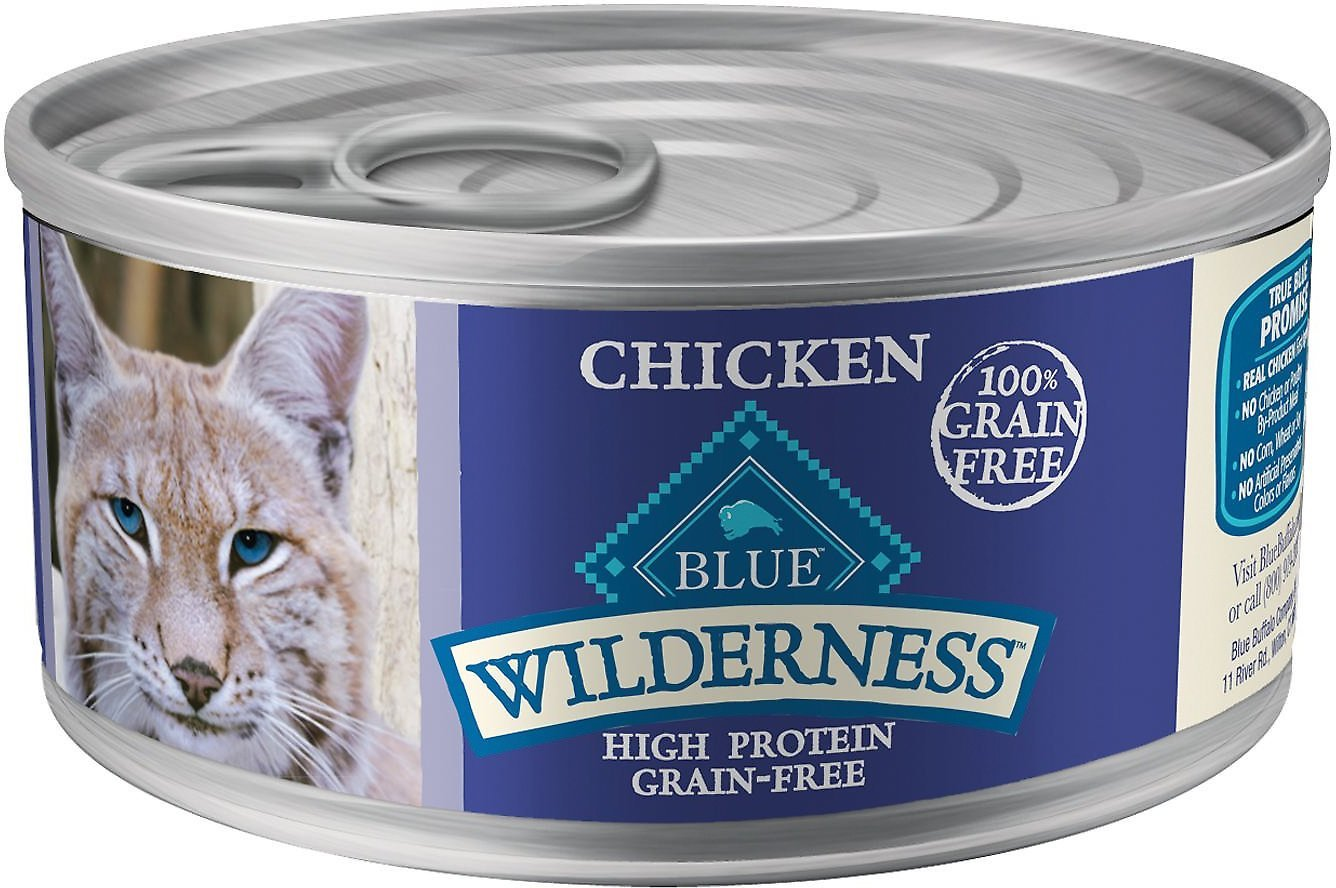 blue buffalo wilderness high calorie wet cat food