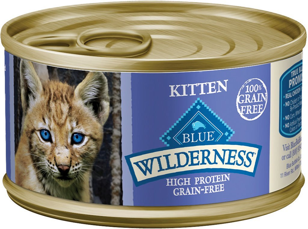 blue buffalo wilderness kitten high calorie cat food