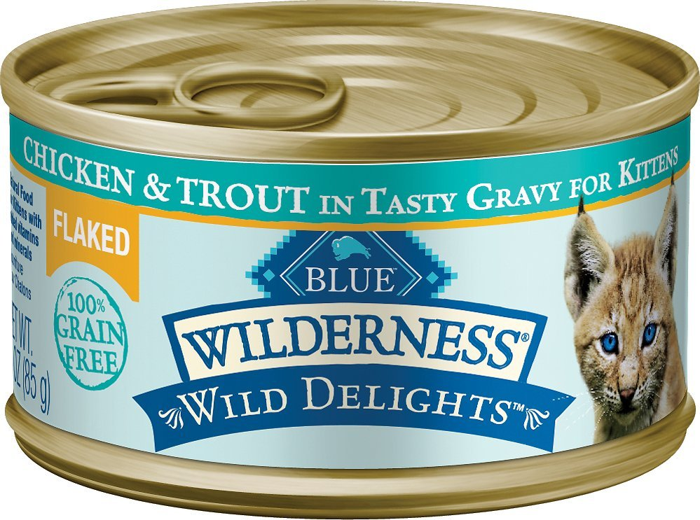 blue buffalo wilderness wild delights kitten food