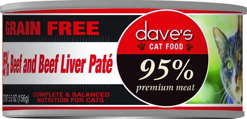 daves cat food high fiber