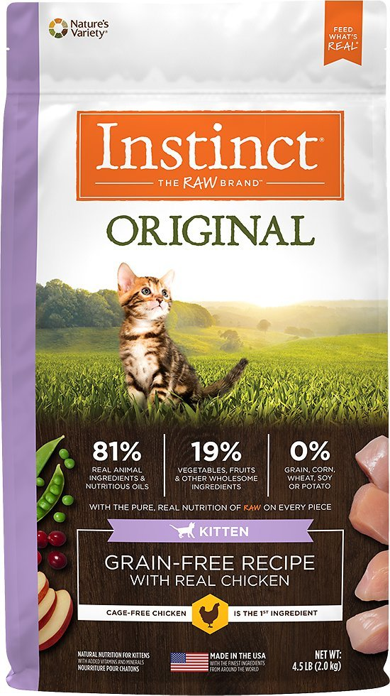 instinct original dry kitten food