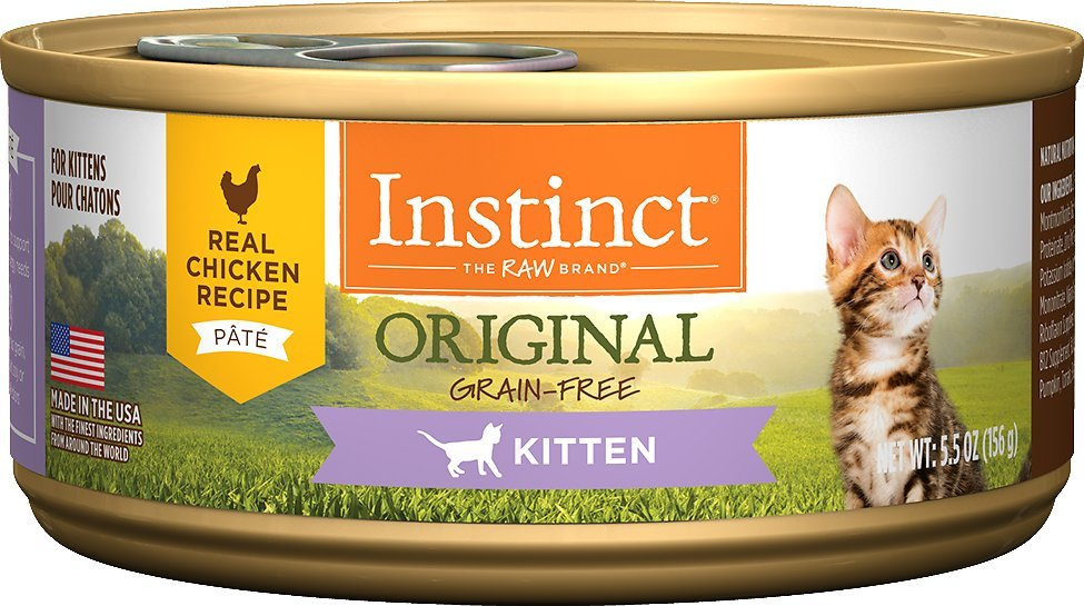 instinct original grain free kitten food
