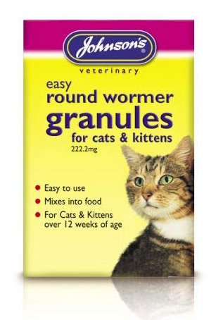 johnsons easy round wormer granules