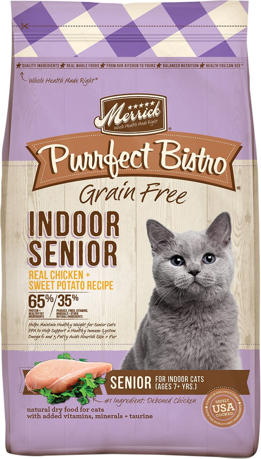 merrick purrect bistro senior cat food