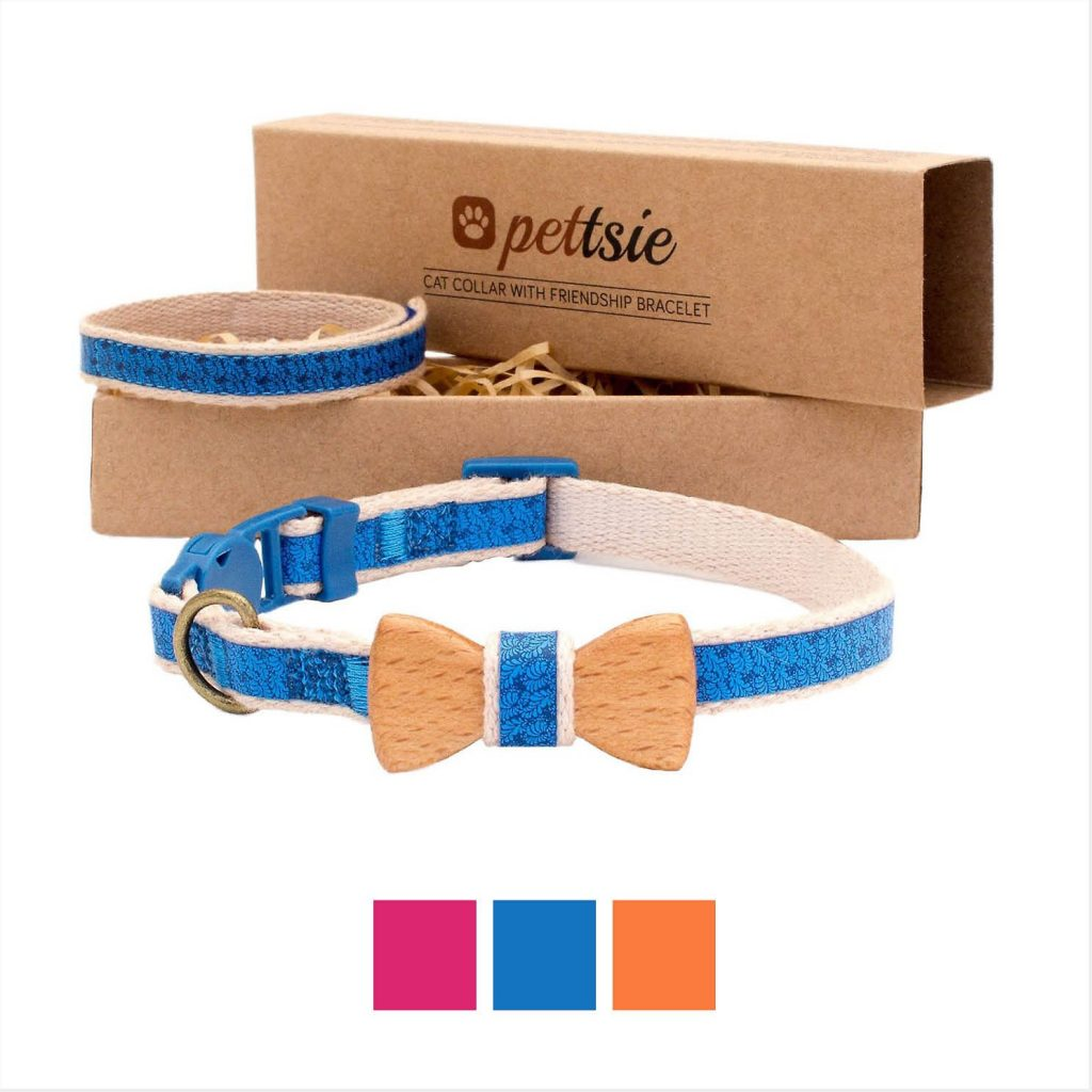pettsie bow tie collar for cats