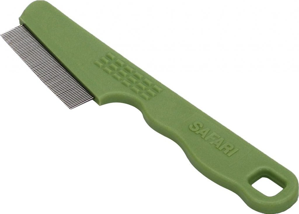 safari flea comb flea treatment