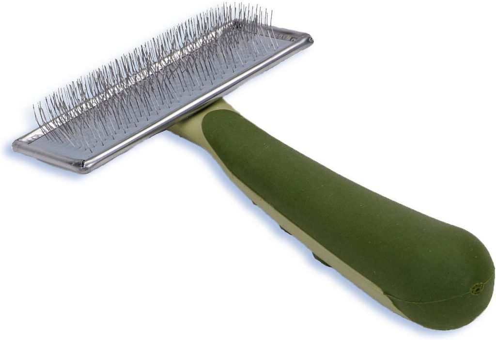safari soft slicker brush for cats