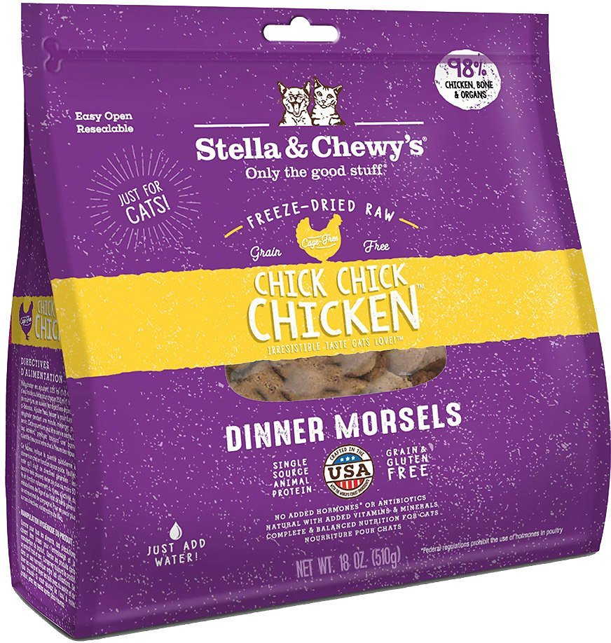 stella and chewys dinner morsels cheap freeze dried cat food