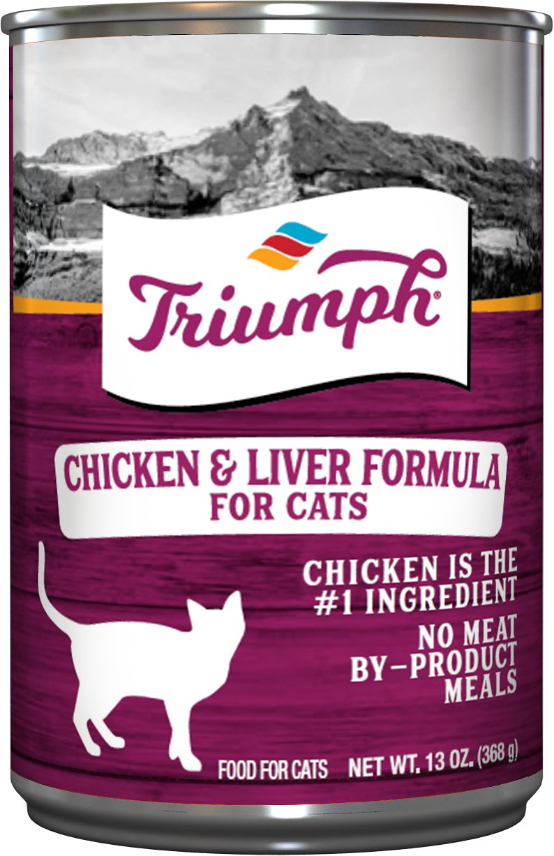 triumph chicken and liver cheap wet cat food