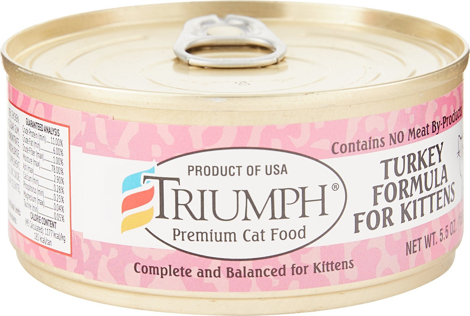 triumph premium cheap wet kitten food