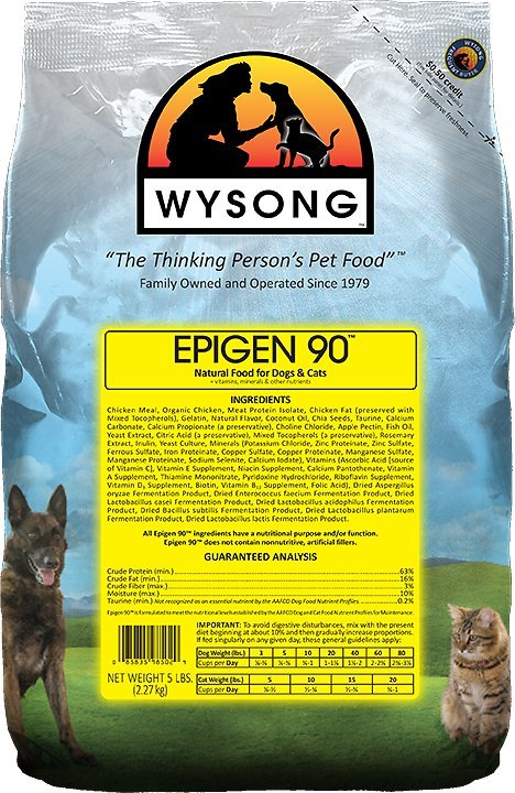 wysong epigen 90 high calorie cat food