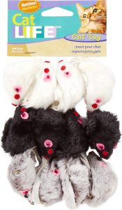 Penn-Plax Purr Pet Bag of Mice Cat Toy
