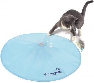 SmartyKat Hot Pursuit Electronic Concealed Motion Cat Toy