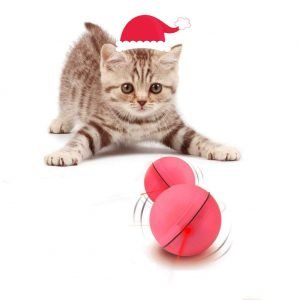 YOFUN Interactive Cat Toy 360 Degree Self Rotating Ball