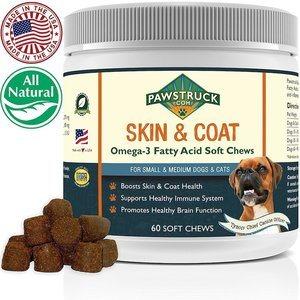 pawstruck omega 3 fatty acid chews