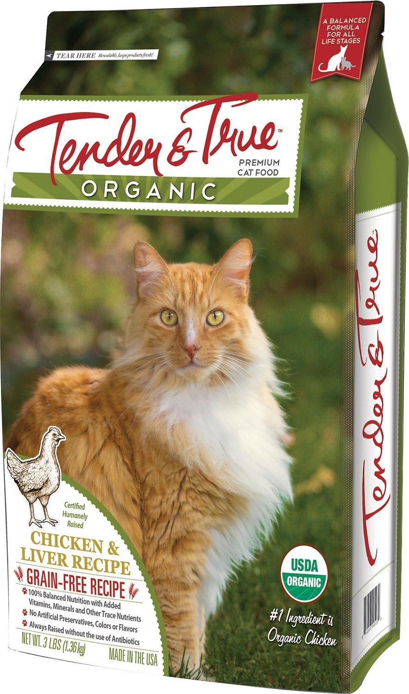 tender and true best organic cat food