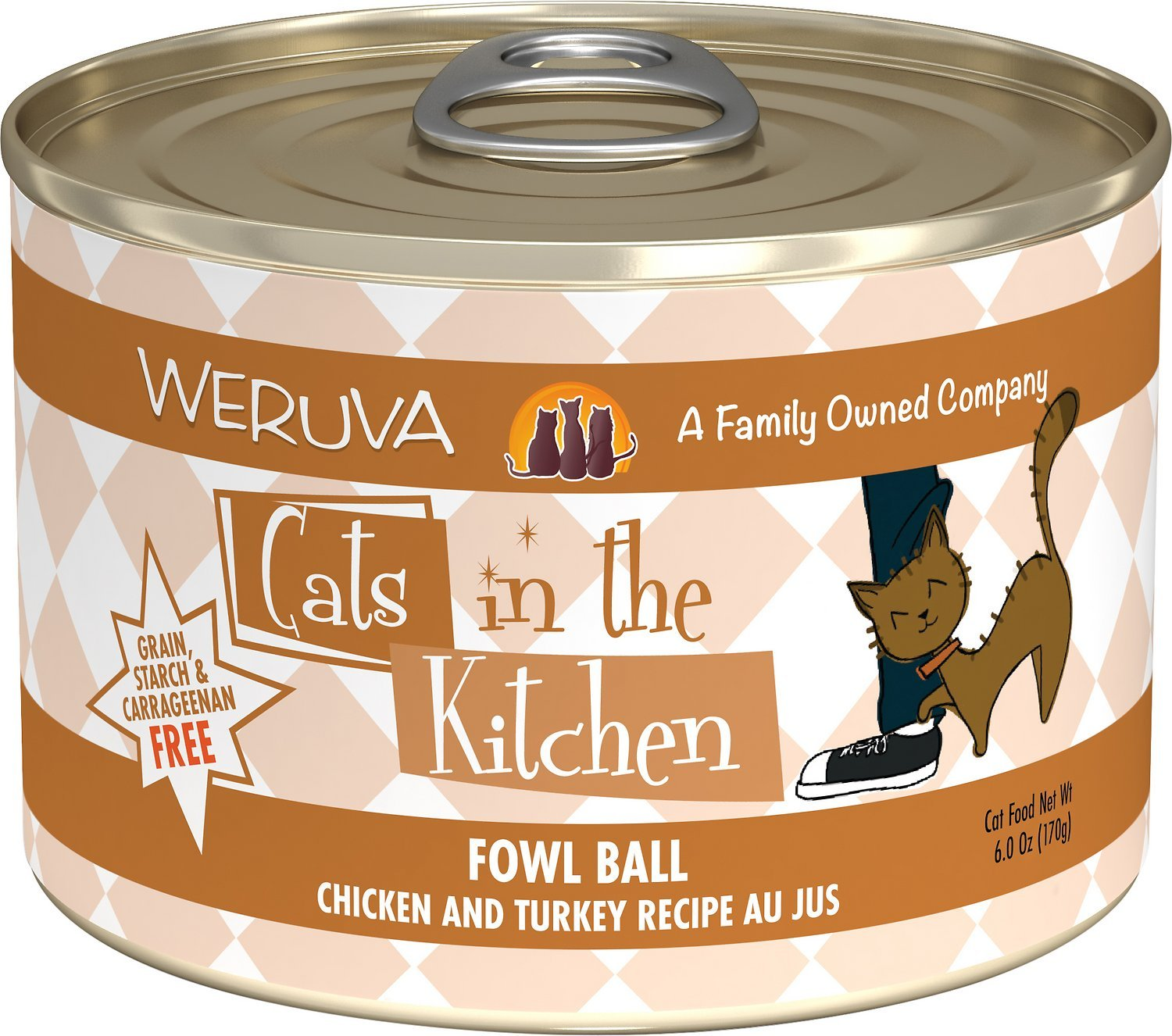 weruva cats in the kitchen fowl ball best urinary tract cat food