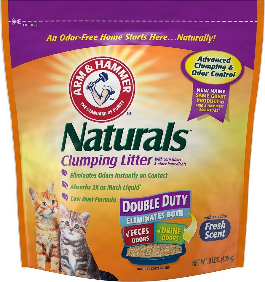 arm and hammer naturals clumping cat litter review