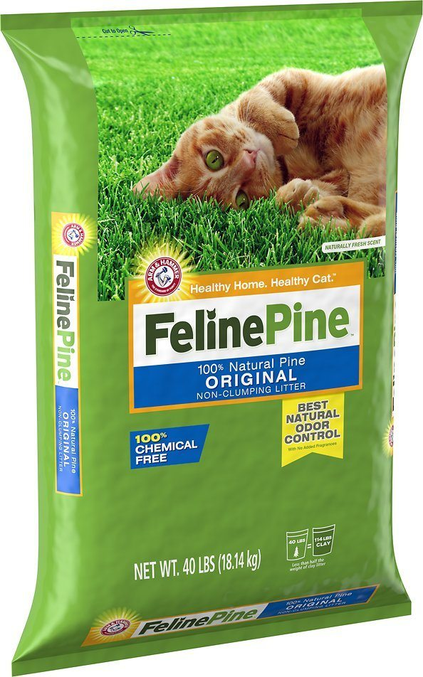 feline pine natural cat litter review