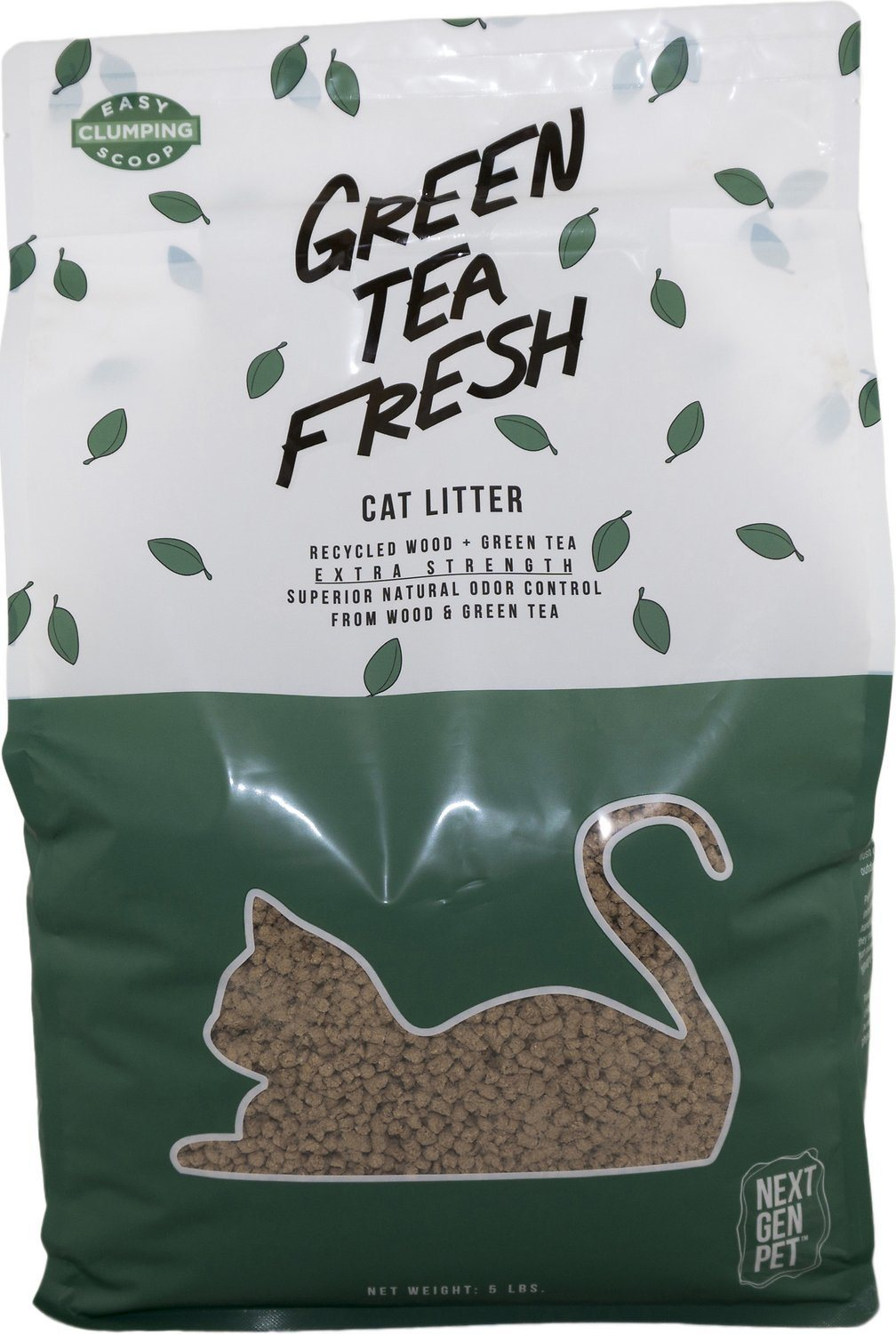 green tea fresh natural cat litter review