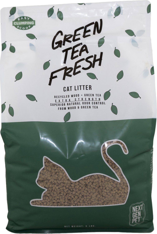green tea fresh natural cat litter review