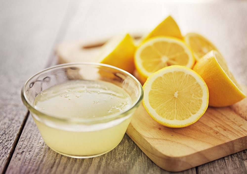 lemon juice for natural flea treatment