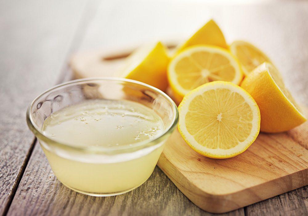 lemon juice for natural flea treatment