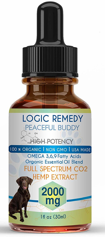 logic remedy peaceful buddy cbd oil review