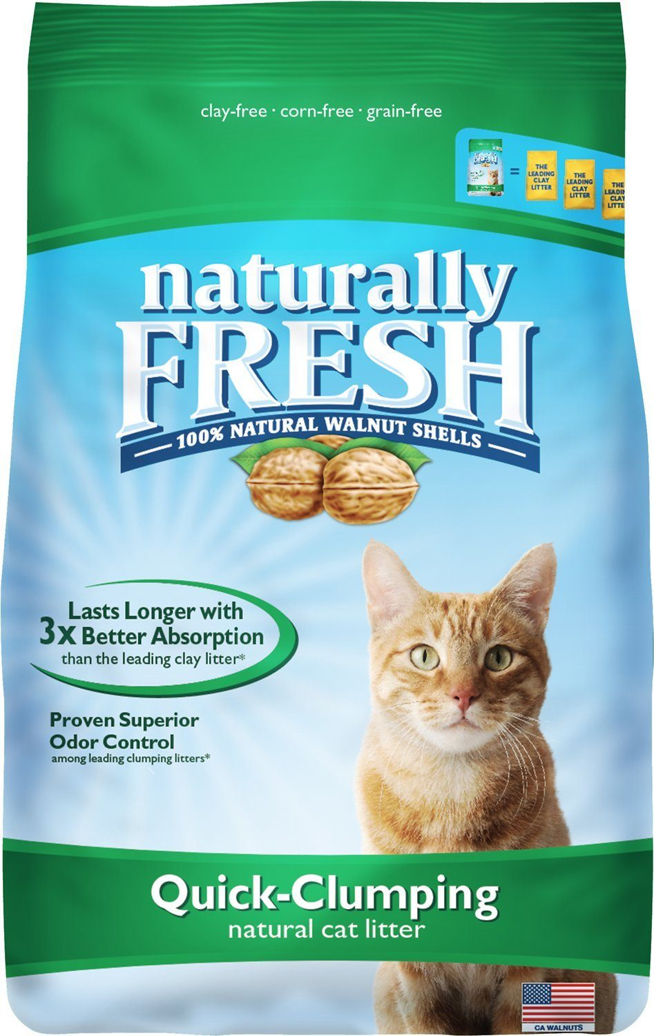 naturally fresh walnut cat litter review
