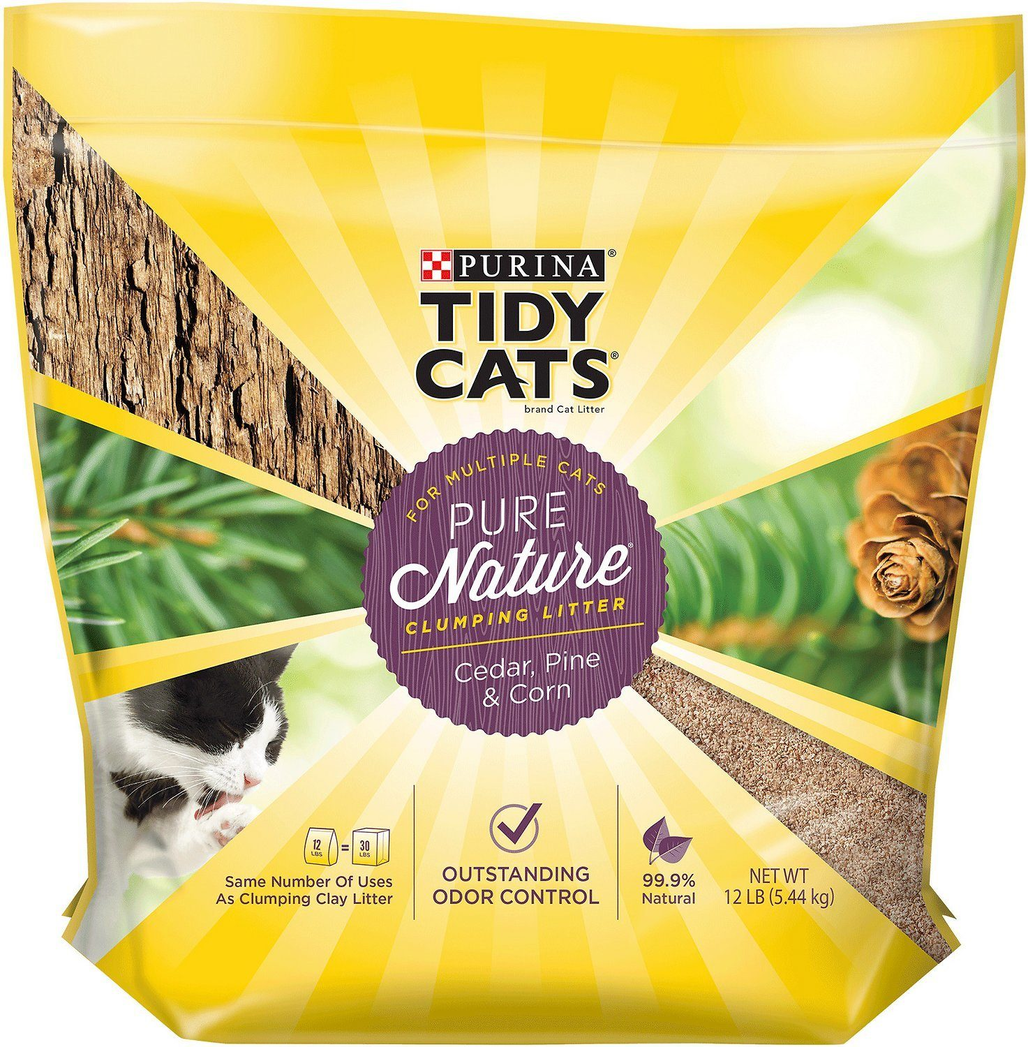 purina tidy cats pure natural cat litter review