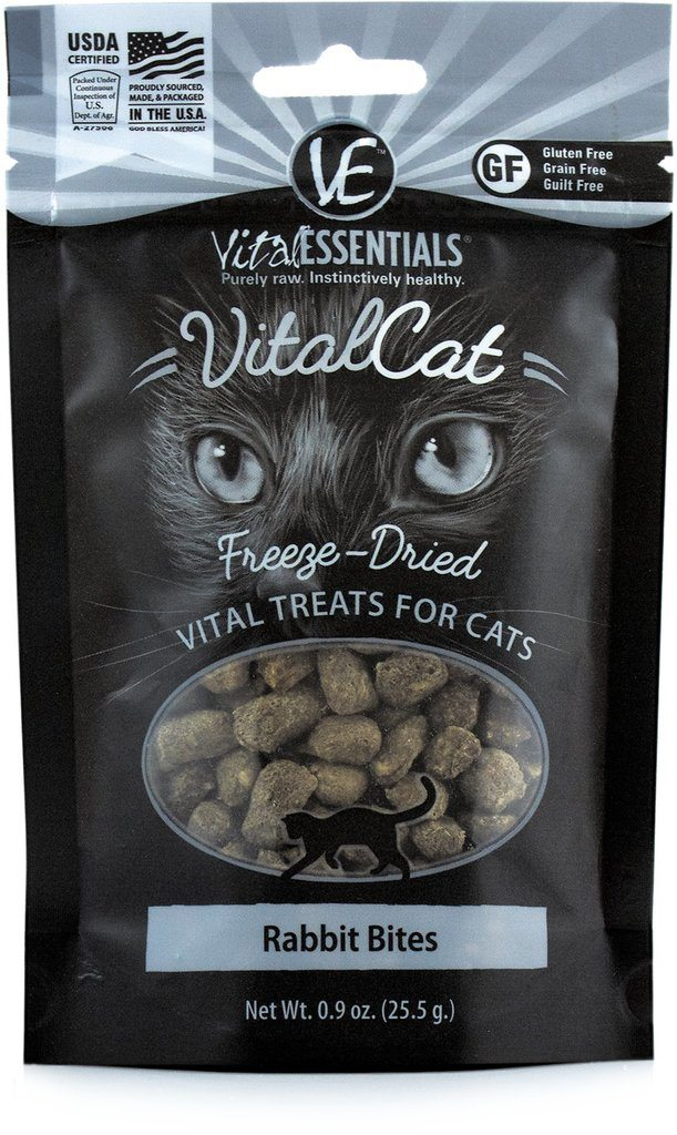 vital essentials rabbit bites freeze dried best cat treats