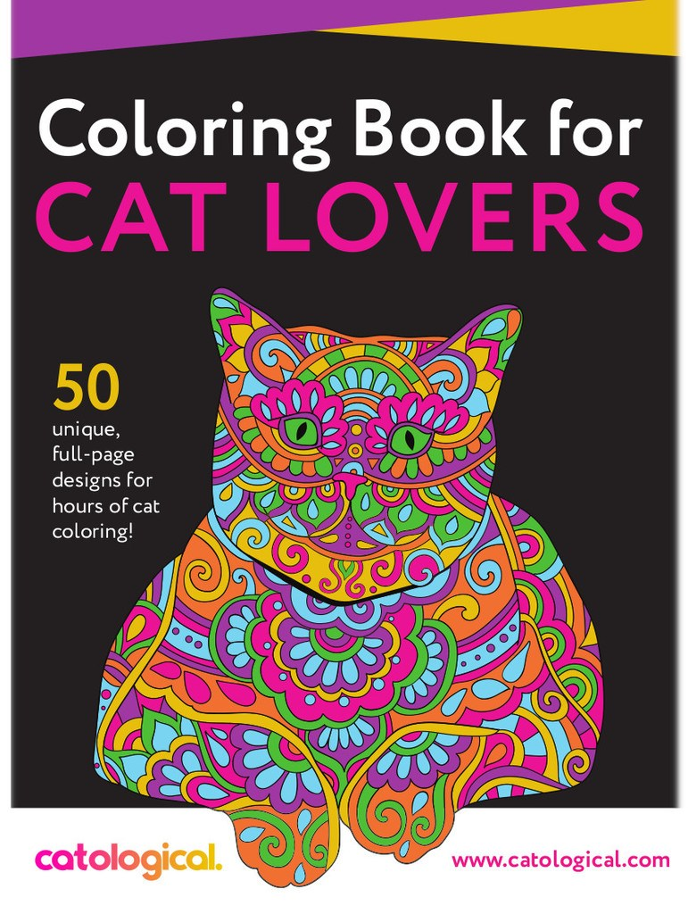 Catological coloring book coveer