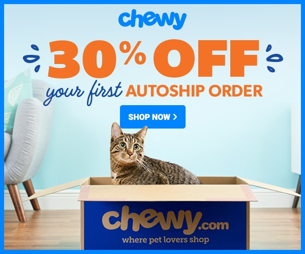 Chewy 30% Off